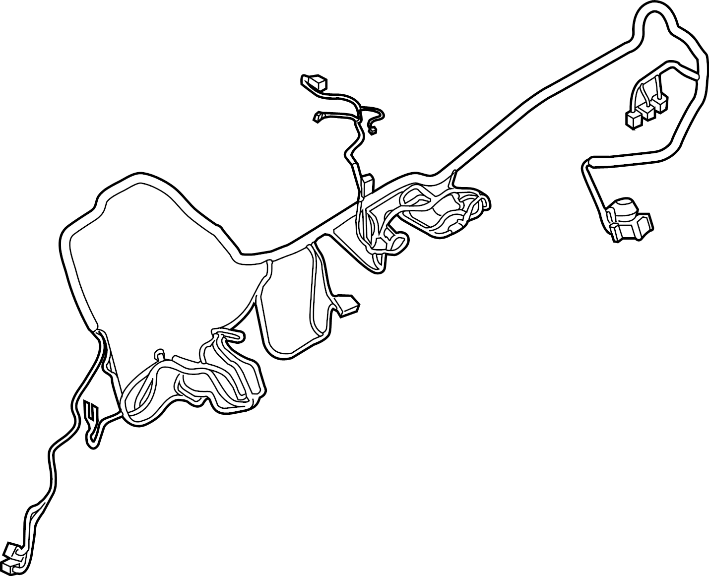 Ford F 250 Super Duty Instrument Panel Wiring Harness