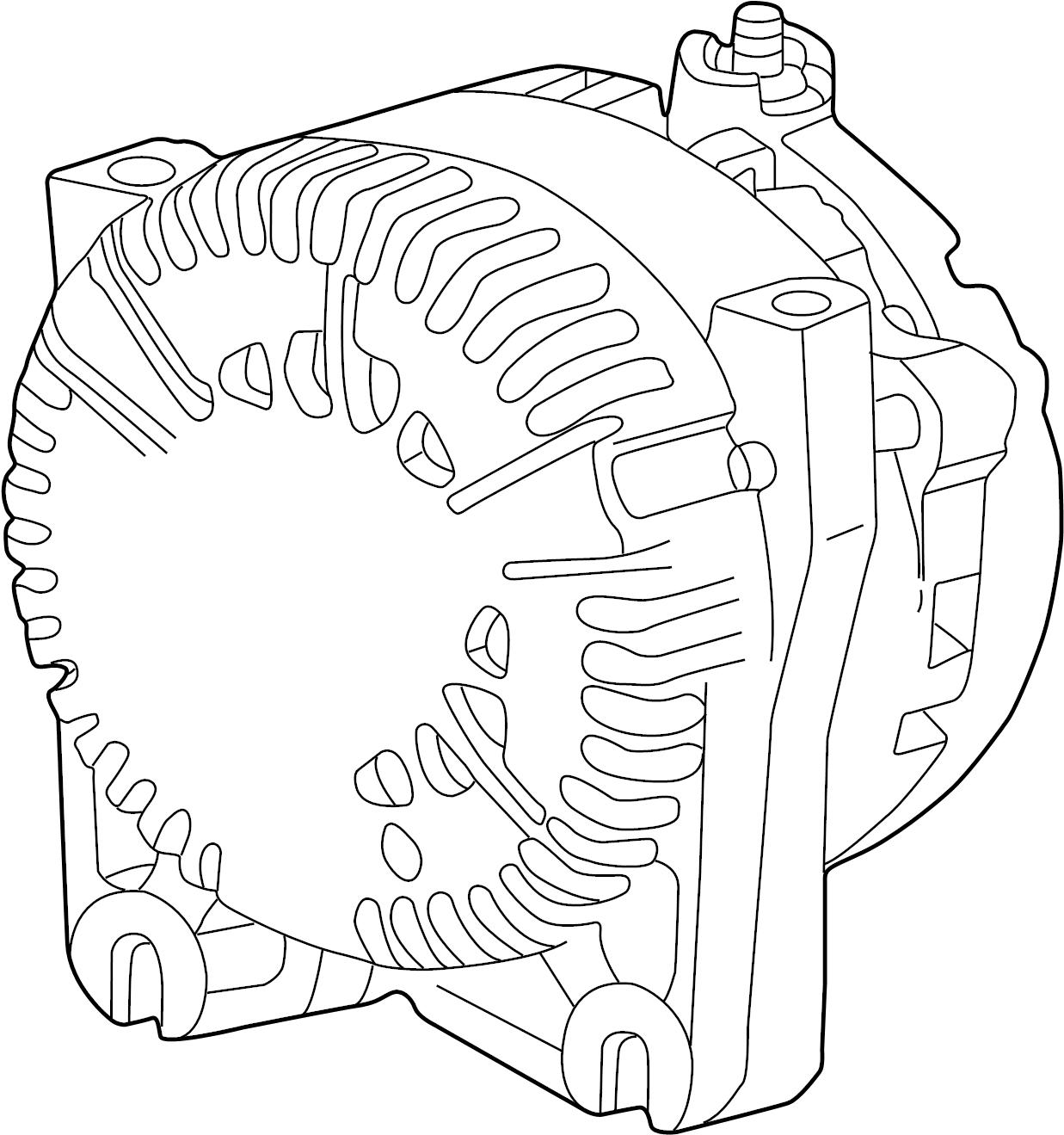Mercury Mountaineer Alternator