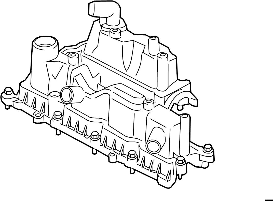 Ford Escape Engine Valve Cover Liter Head Gasket