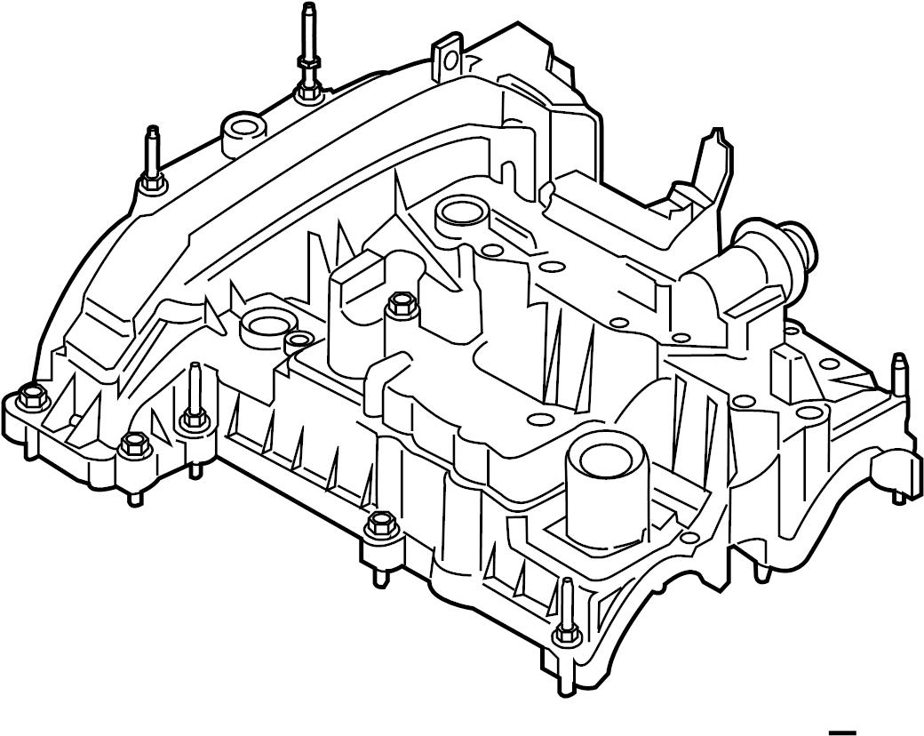 Ford Ecosport Engine Valve Cover 1 0 Liter Ecosport