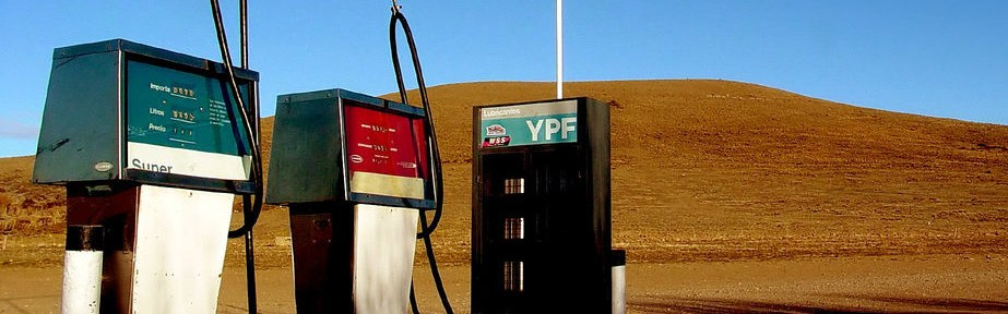 YPF petrol station in Argentina.