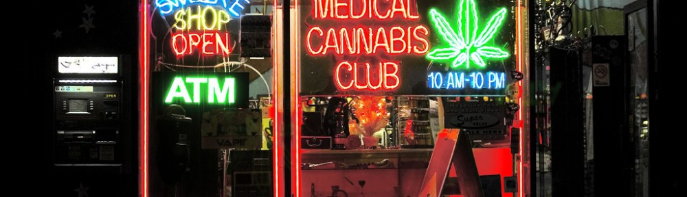 A medical cannabis club in 2005.
