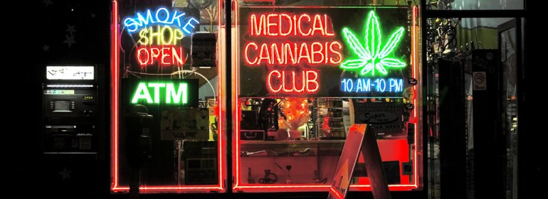 A medical cannabis club in 2005.
