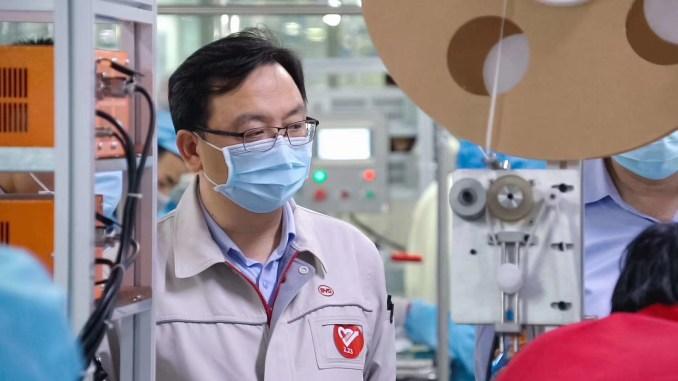 BYD Chairman Wang Chuanfu