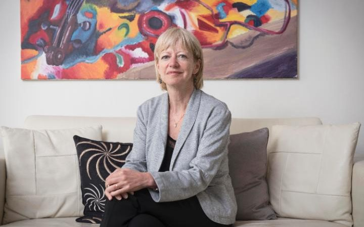Dr Ellen Wright was a victim of a conveyancing scam last January (CREDIT: JOHN NGUYEN)