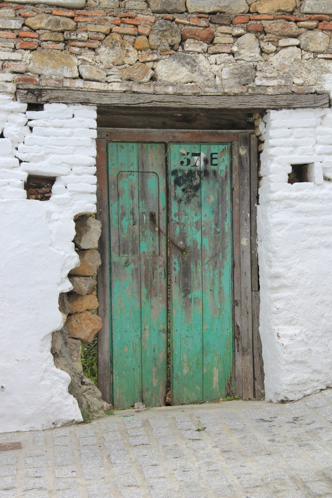 Green door in Casares