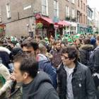 Temple Bar, St. Paddys Day in Dublin