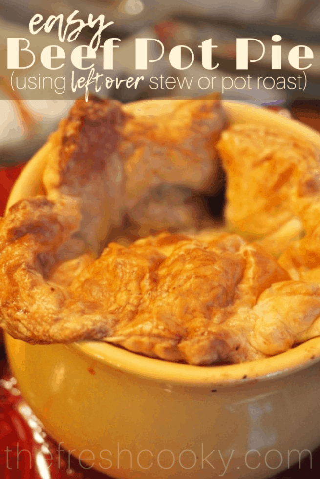 Easy Beef Pot Pie   www.thefreshcooky.com