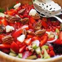 Sweet Maple Apple Pecan Salad