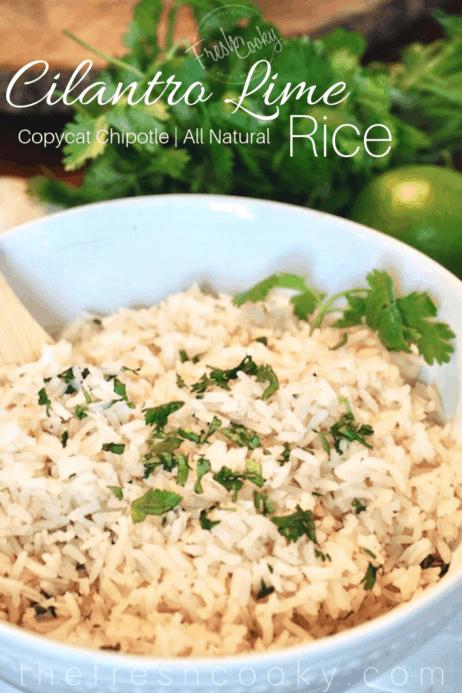 Copycat Chipotle Cilantro Lime Rice | www.thefreshcooky.com
