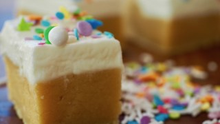 Frosted Sugar Cookie Bars & Bites