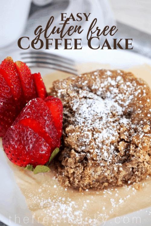 Gluten Free Coffee Cake {with regular flour options} | www.thefreshcooky.com