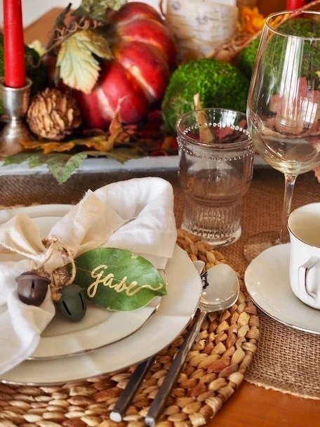 Thanksgiving Tablescapes | www.thefreshcooky.com
