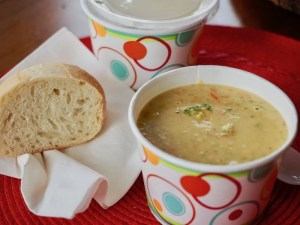 Better-than-Panera Broccoli Cheese Soup