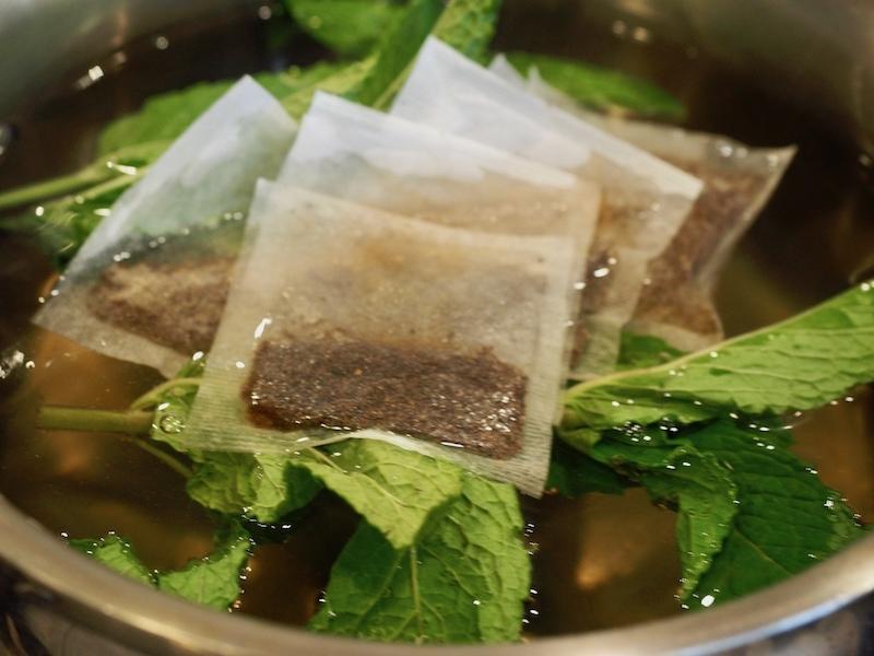 Texas Tea (Reduced Sugar) | www.threfreshcooky.com #texastea #punch #icedtea