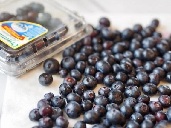 Blueberry Crumble Cake   www.thefreshcooky.com #blueberries #blueberrycoffeecake #coffeecake