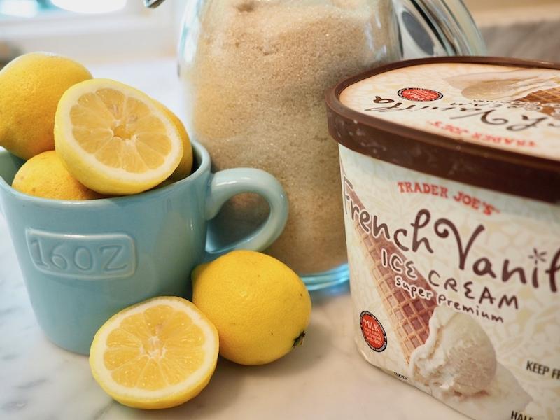 Chick-Fil-A Copycat Frosted Lemonade   www.thefreshcooky.com #frostedlemonade #frozenlemonade #lemonade #summerdrinks #copycat