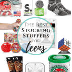 The BEST Stocking Stuffer Ideas for Teen Boys (and girls too)! Economical , fresh ideas and fun gifts for teens this Christmas. #thefreshcooky #stockingstuffers #teens #teenboys #teengirls #sensory #tactile #stockings #christmasgiftideas #ideas #stockingstufferideas