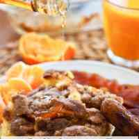 Baked Cinnamon Crunch French Toast