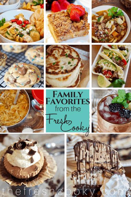 Family Favorite Recipes | www.thefreshcooky.com