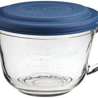 Anchor Hocking 2 Quart Glass Batter Bowl With Lid (81106L11)