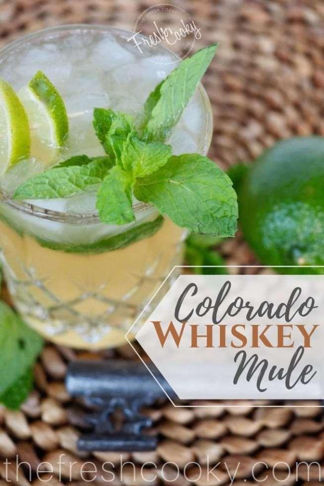 Colorado Whiskey Mule | www.thefreshcooky.com