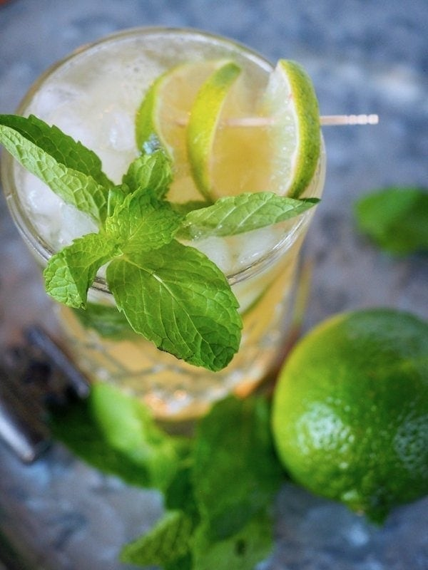 Irish Mule Garnish | www.thefreshcooky.com