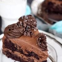 Easy Rich Chocolate Zucchini Cake