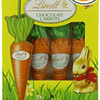 Lindt Chocolate Carrots Pack of 4 (8 Carrots Total) Easter Basket Chocolate