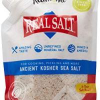 Redmond Real Salt, Sea Salt Ancient Kosher Pouch, 16 Ounce