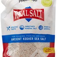 Redmond Real Salt, Sea Salt Ancient Kosher Pouch, 16 Ounce