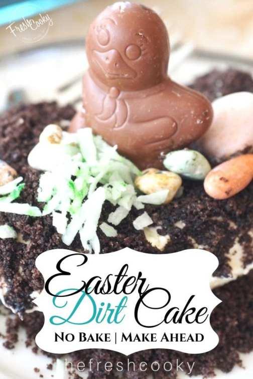Easter Dirt Cake | www.thefreshcooky.com