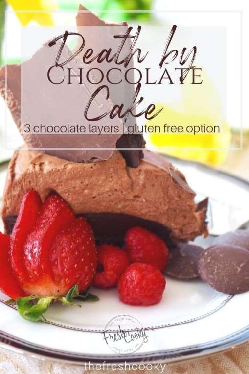 Death by Chocolate Cake | www.thefreshcooky.com