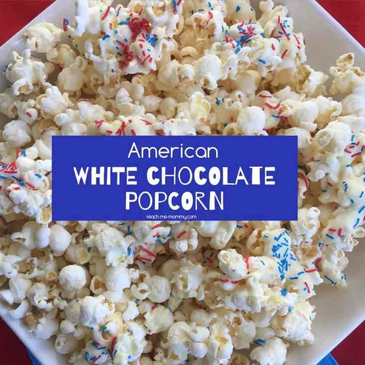American White Chocolate Popcorn
