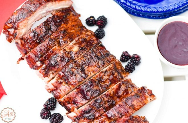 How to Make Delicious Blackberry Glazed Grilled Ribs