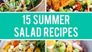 15 Summer Salad Recipes to Try