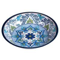 Certified International Talavera Melamine Large Serving Bowl