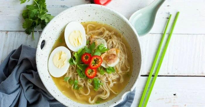 Homemade Ramen Noodle Bowls