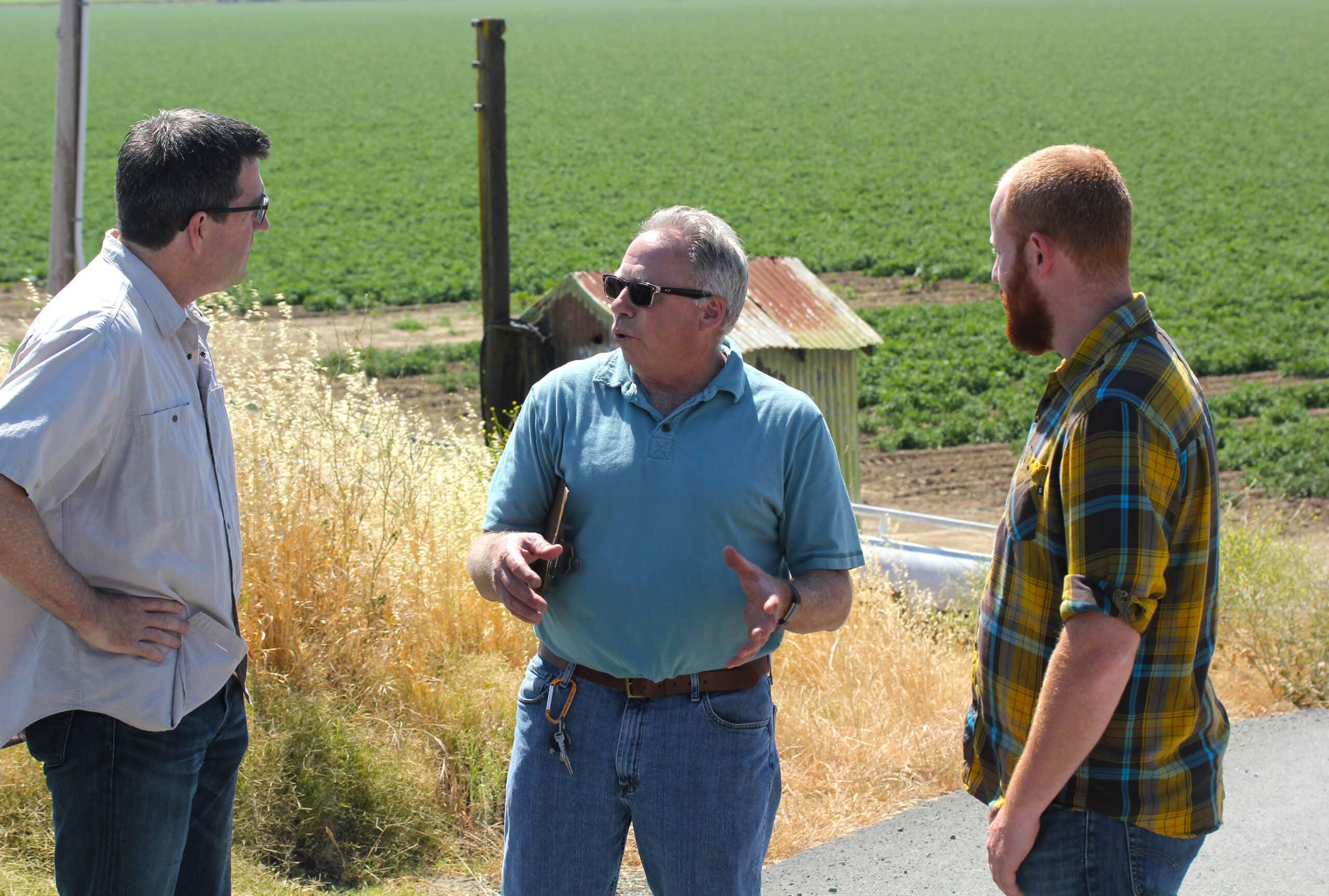 Tom Hester, farmer, Ryer Island, California