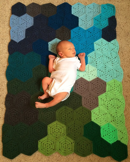 couverture bébé garçon crochet