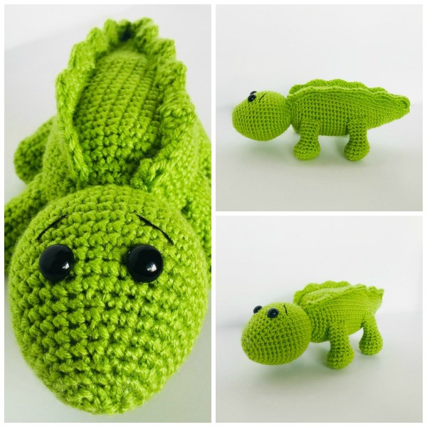 Crochet Alligator a free crochet pattern