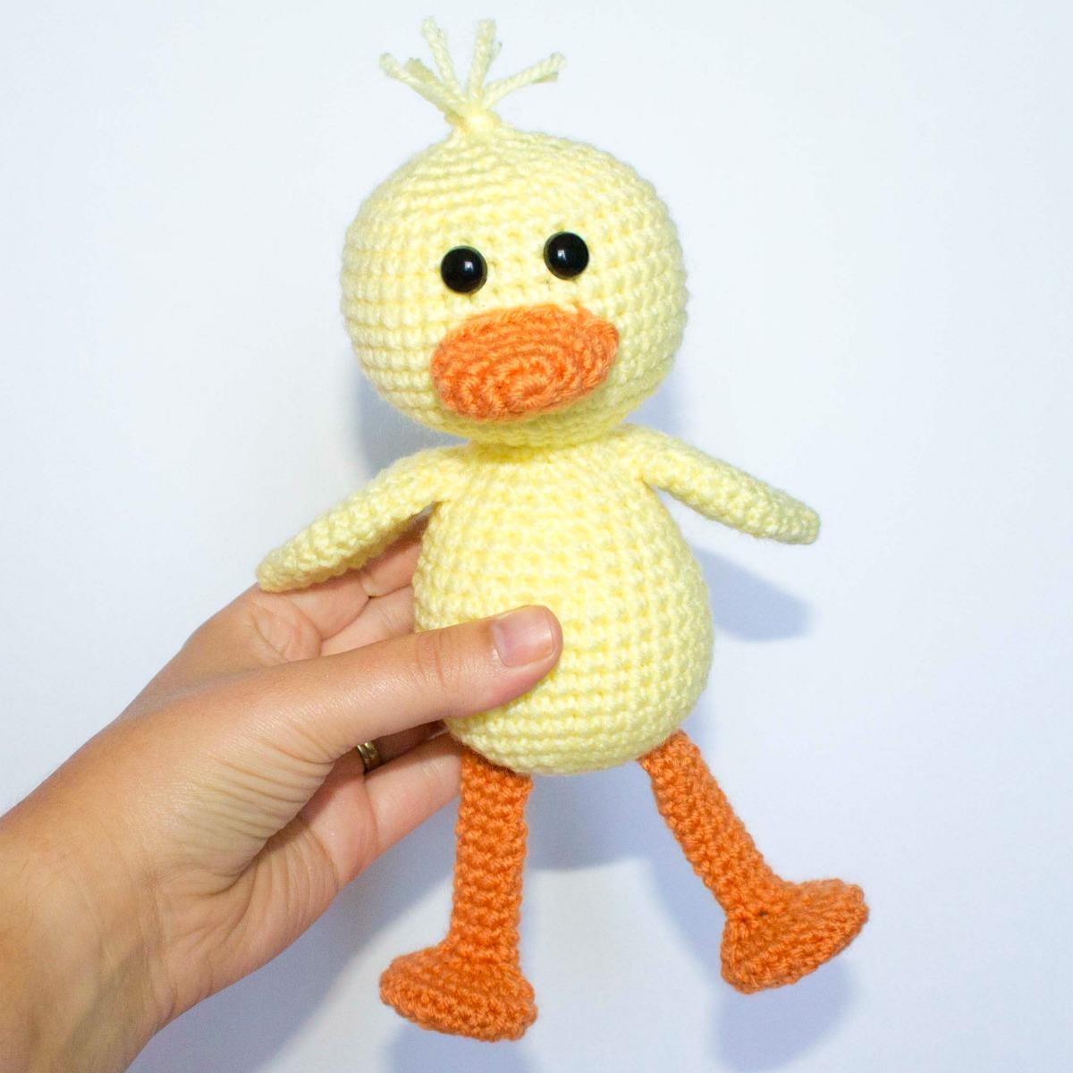 Crochet Duck Pattern Thefriendlyredfox Com