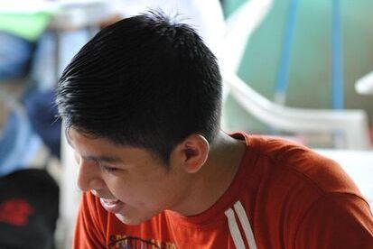 Student from the Tutoring program