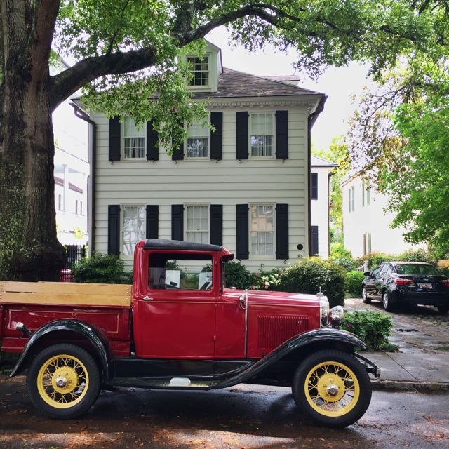 Charleston, South Carolina, vintage truck