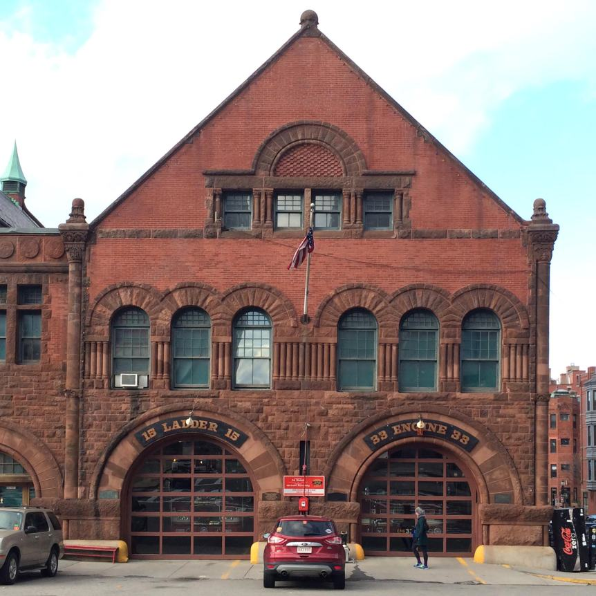 fire department, firehouse, boston, massachusetts, engine 33, ladder 15
