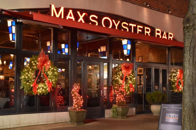 west hartford center, west hartford, max's oyster bar, connecticut, restaurant