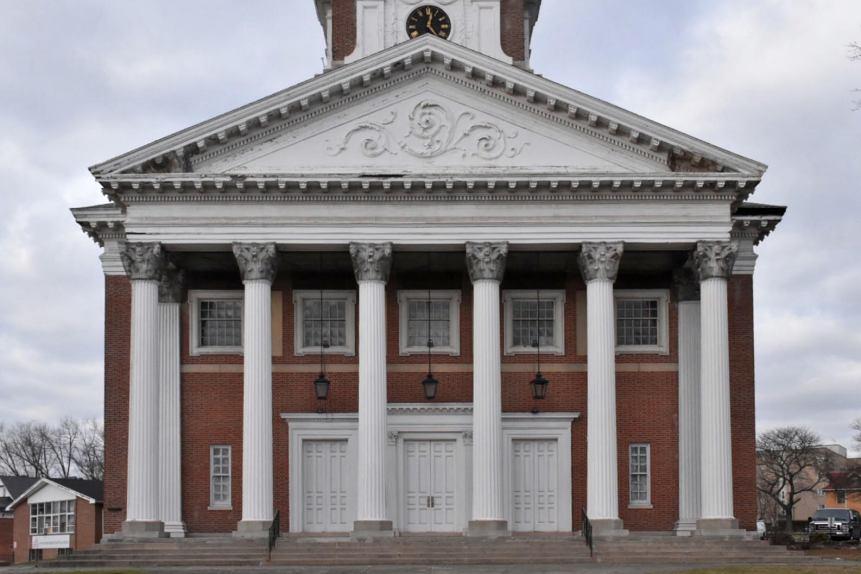 horace bushnell congregational church, hartford, ct, connecticut, main street