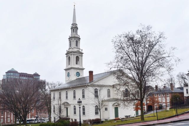 first baptist church of america, college hill, providence
