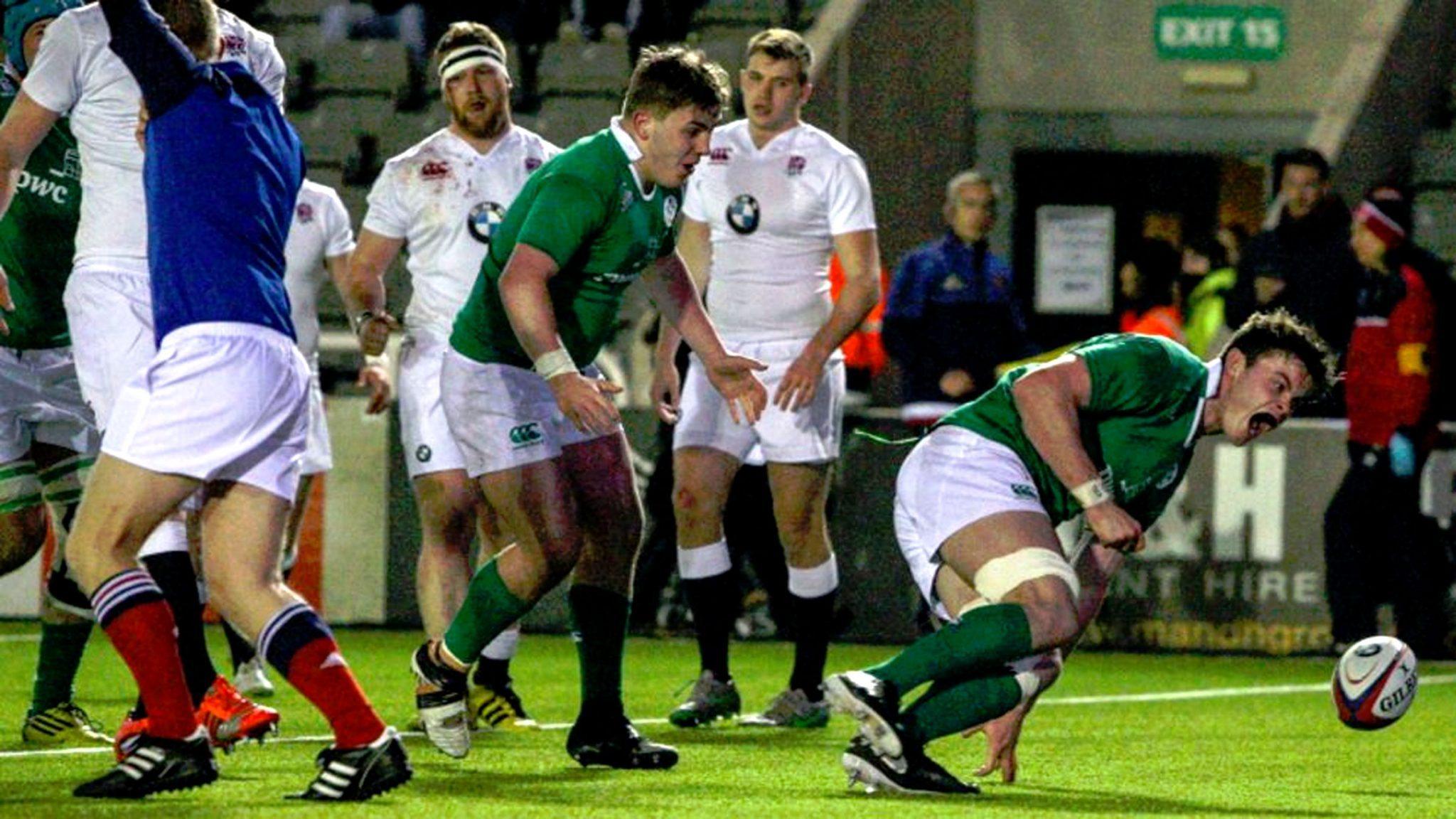 RBS6N: England U20 20 Ireland U20 26
