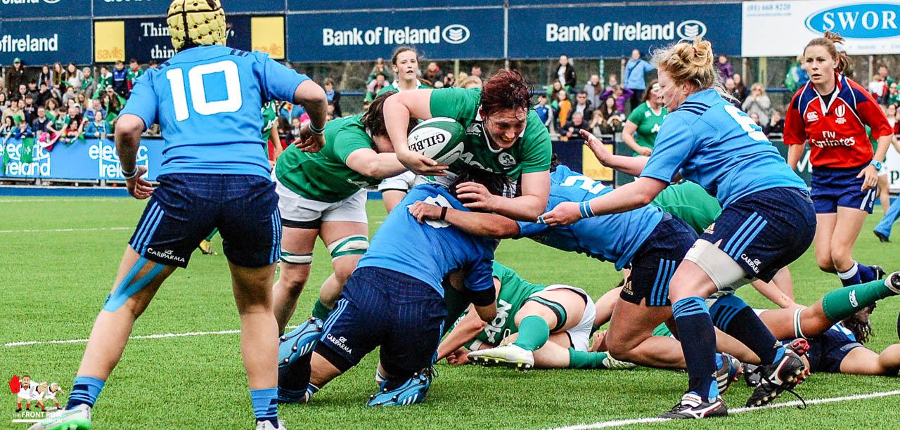 RBS6N: Ireland Women 14 Italy Women 3